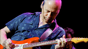 Mark Knopfler of Dire Straits