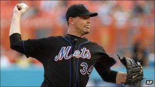 New York Mets pitcher Mike Pelfrey