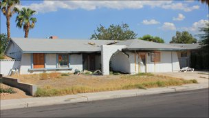 Foreclosed home, Summerlin, Las Vegas