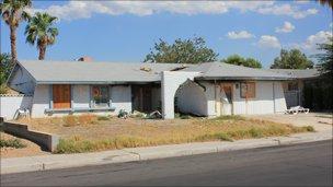 Foreclosed home, Summerlin, Las Vegas