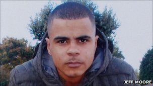 Mark Duggan who was shot dead by police in Tottenham on  4 August