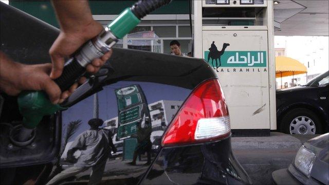 Petrol station, Tripoli