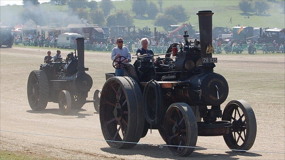 dorset steam ralli