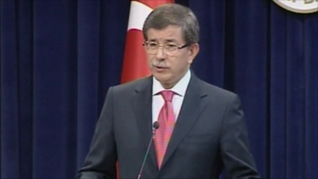 Turkish Foreign Minister, Ahmet Davutoglu