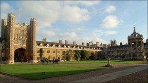 BBC News - Cambridge holds top slot in university league table
