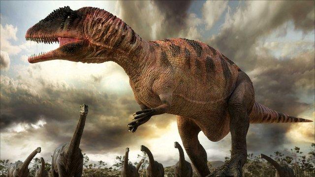 BBC Nature - The dinosaurs return