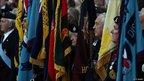 Standard bearers in Wootton Bassett