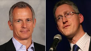 Brian Paddick and Lembit Opik