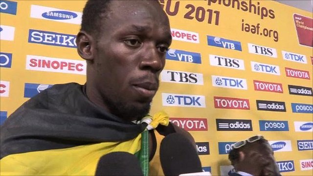 BBC Sport - World Athletics 2011: Usain Bolt wins 200m gold