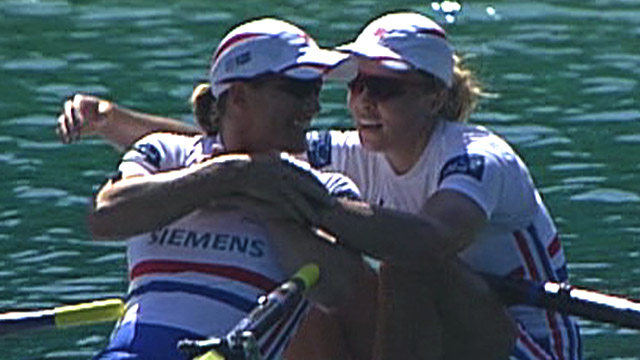 Great Britain&#039;s Katherine Grainger and Anna Watkins