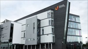 Darlington campus of Teesside University