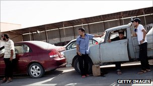 Fuel shortages near Misrata, 3 Sept