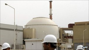 Iran's Bushehr nuclear power station, file pic from 2009