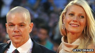 Matt Damon and Gwyneth Paltrow