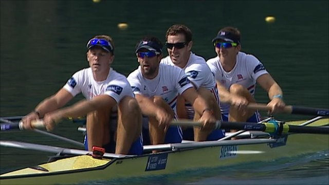 Great Britain's men's four