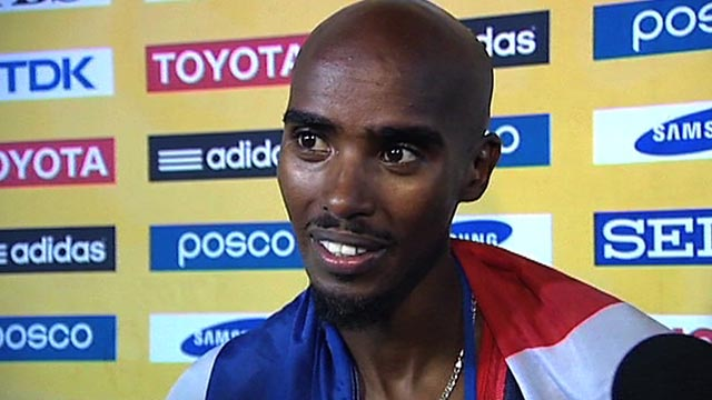 Britain&#039;s Mo Farah