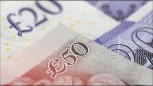sterling banknotes