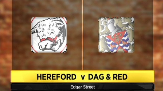 Hereford 1 - 0 Dag & Red