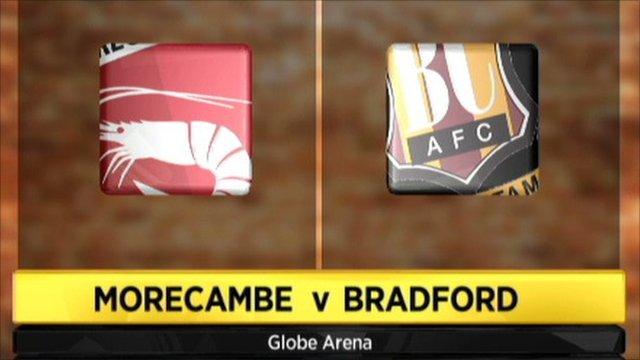 Morecambe 1-1 Bradford