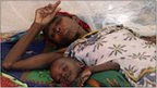 Somali mother and child