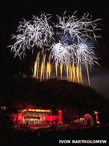 Edinburgh International Festival Fireworks Pic: Ivon Bartholomew