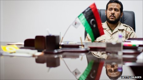 Abdel Hakim Belhadj in Tripoli, 1 September