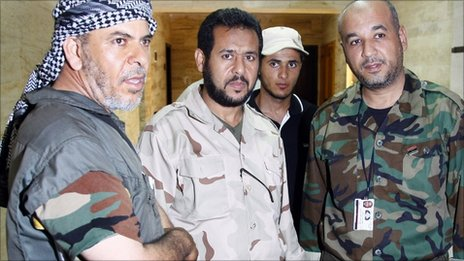 Abdel Hakim Belhadj, Salahidin Badi, Mustapha Mohamed on 31 Aug