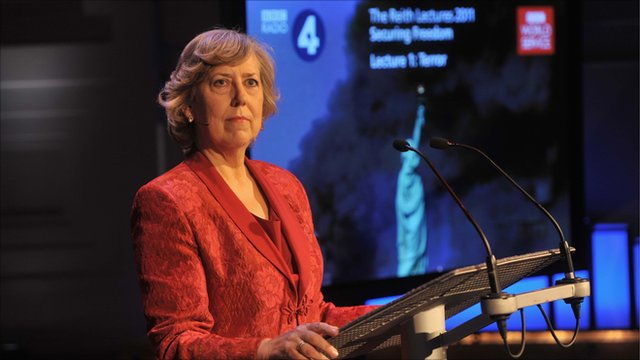 Eliza Manningham-Buller, former director-general of MI5 and Reith Lecturer 2011