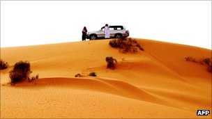 Sand dune in Saudi Arabia