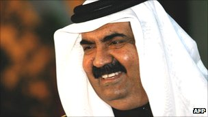 Sheikh Hamad bin Khalifah Al Thani, emir of Qatar