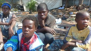 Zimbabwean child migrants
