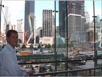 Rhun ap Iorwerth ger Ground Zero
