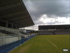 Salford move to the Salford City Stadium after 110 years at The Willows