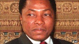 Ibrahim Barre Mainassara, president of Niger 1996-99