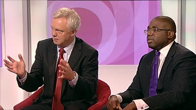 David Davis and David Lammy