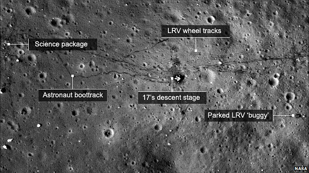 lunar landing sites visible from earth - photo #21