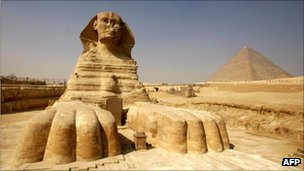 Sphinx, Giza, Egypt