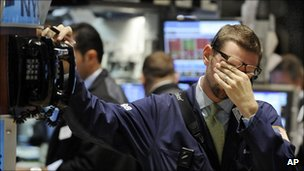Trader despairs in 2008 in the US