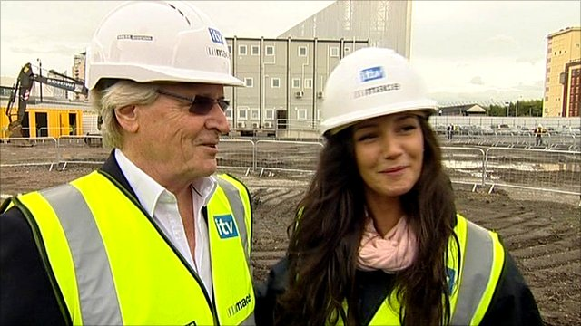 William Roache and Michelle Keegan