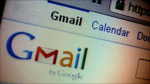 Gmail screen