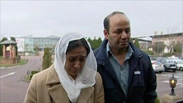 Farzana Ahmed and Iftikhar Ahmed