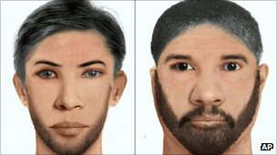 Photofit of suspects