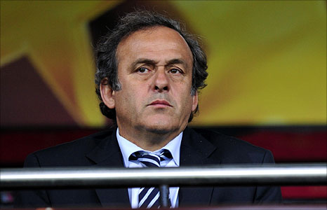 Uefa president Michel Platini