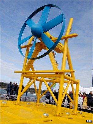 Tidal turbine
