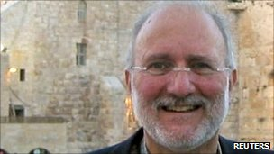 US aid contractor Alan Gross, file picture