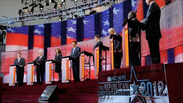 Rebublicans debate for party's nomination
