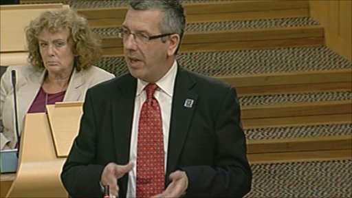 Scottish Labour MSP David Stewart leads a member's debate on young drivers.