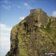 Coroghan Castle. Pic: RCAHMS