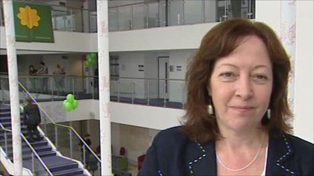 Plaid Cymru president Jill Evans