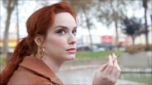 The cast includes Mad Men star Christina Hendricks